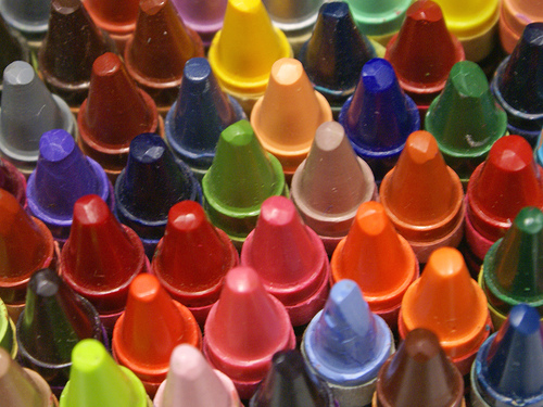 crayons for recycling